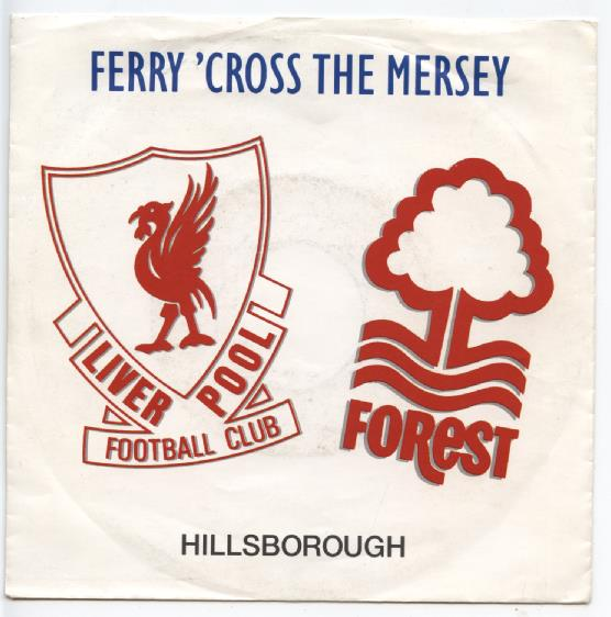 "LIVERPOOL FOOTBALL CLUB ""Ferry 'cross the mersey"""