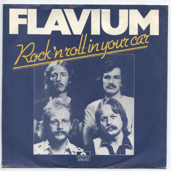 "FLAVIUM ""Rock 'n Roll in your car"""