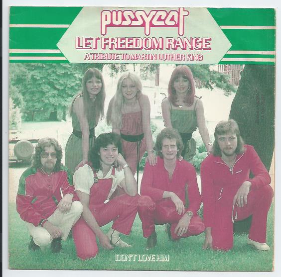"PUSSYCAT ""Let freedom range"""