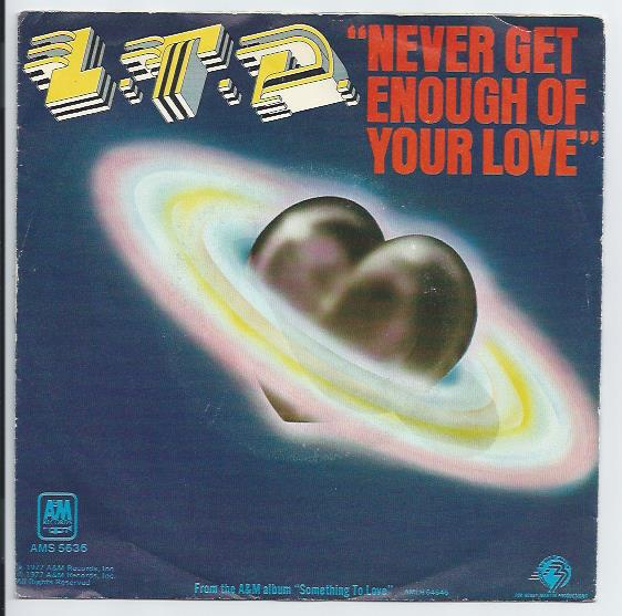 "L.T.D. ""Never get enough of your love"""
