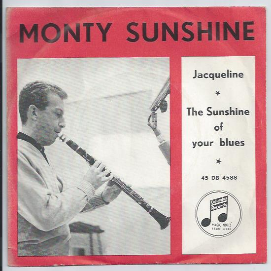 "MONTY SUNSHINE QUARTET ""The sunshine of your blues"""