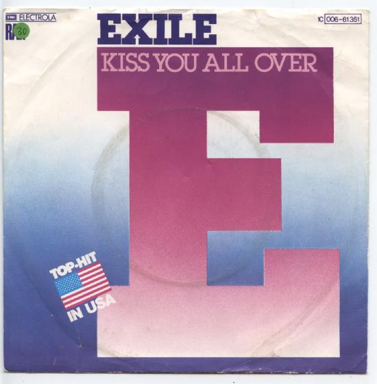 "EXILE ""Kiss you all over"" (d)"