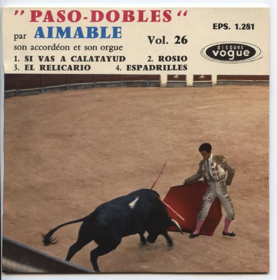 "AIMABLE ""Vol. 26 Paso - Dobles"" EP"