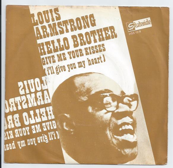 "LOUIS ARMSTRONG ""Hello brother"" (A)"