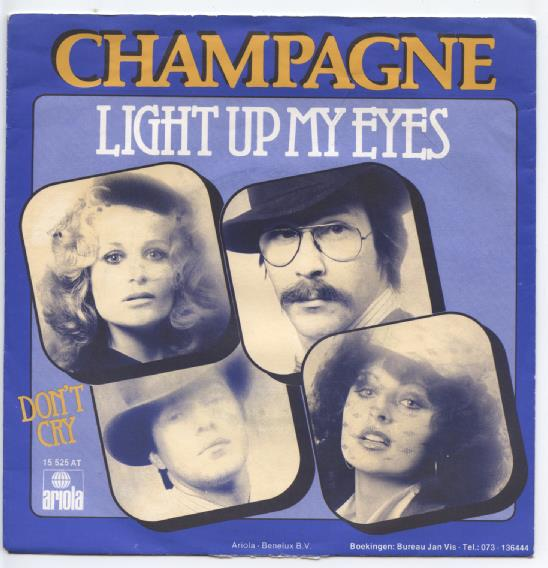 "CHAMPAGNE ""Light up my eyes"""