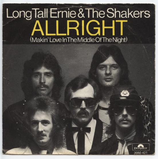 "LONG TALL ERNIE & THE SHAKERS ""Allright"""