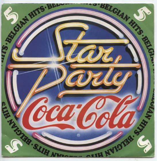 "COCA COLA ""Star Party 5, Belgian Hits"""