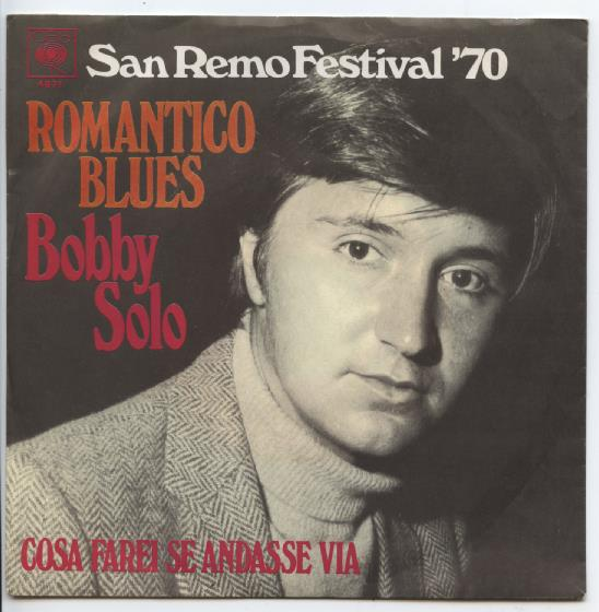 "BOBBY SOLO ""Romantico Blues"""