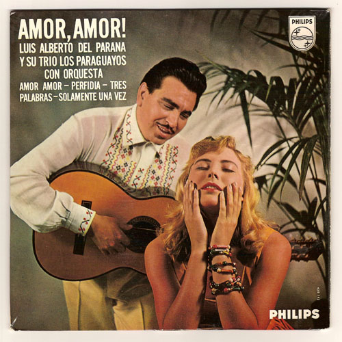"LOS PARAGUAYOS ""Amor, amor"" EP"