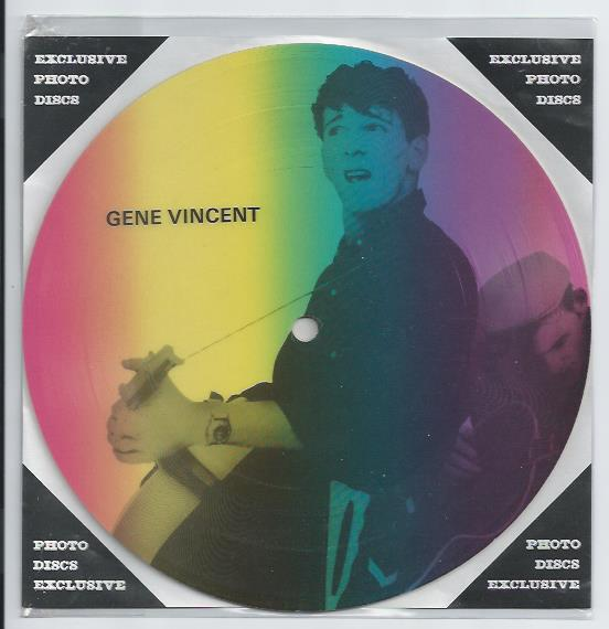 "GENE VINCENT ""Masters of Rock & Roll vol. 1 PR 15"" (Pict.disc)"