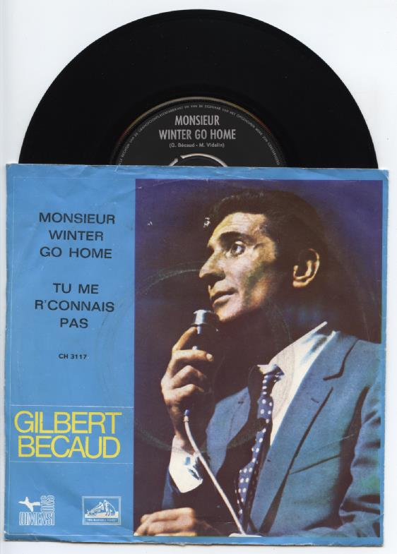 "GILBERT BECAUD ""Monsieur winter go home"""
