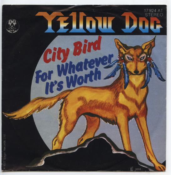 "YELLOW DOG ""City bird"""