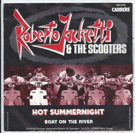 "ROBERTO JACKETTI & THE SCOOTERS ""Hot Summernight"""