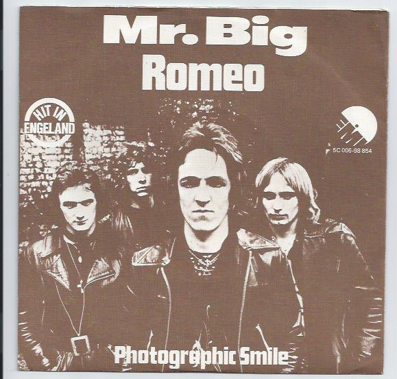 "MR.BIG ""Romeo"""