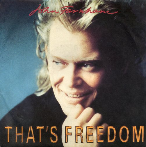 "JOHN FARNHAM ""That's freedom"""