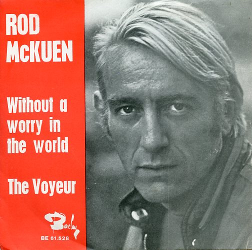 "ROD McKUEN ""Without a worry in the world"" (A)"
