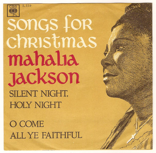 "MAHALIA JACKSON ""Silent night, holy night"" (A)"