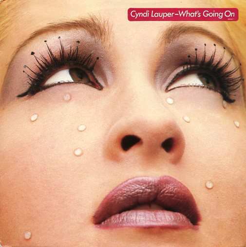 "CYNDI LAUPER ""What's going on"""