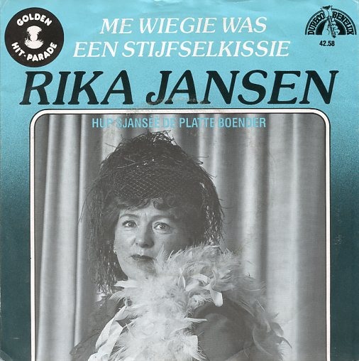 "Golden Hit Parade RIKA JANSEN ""Me wiegie was..."""