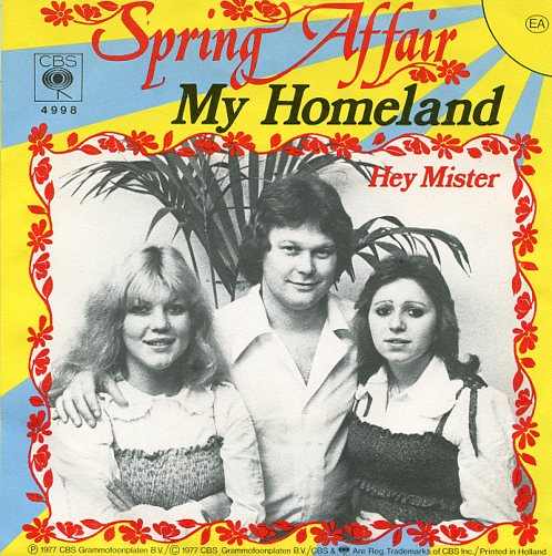 "SPRING AFFAIR ""My homeland"""
