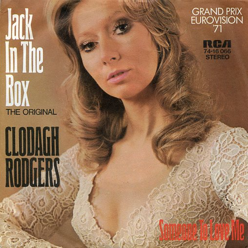 "CLODAGH RODGERS ""Jack in the box"" 1971"