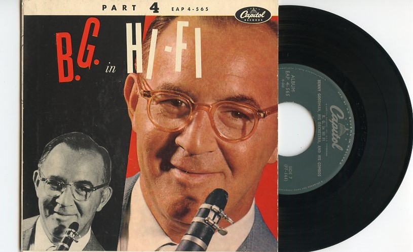 "BENNY GOODMAN ""B.G. in Hi-Fi (part 4)"" EP"
