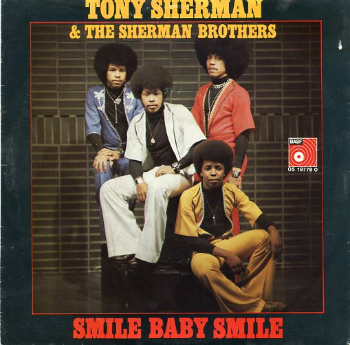 "TONY SHERMAN ""Smile Baby smile"""