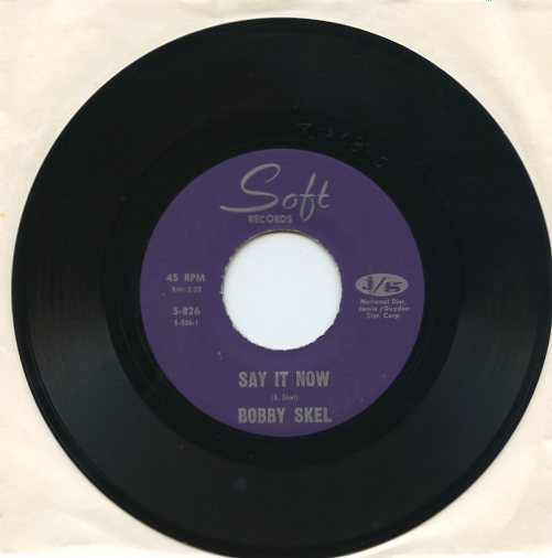 "BOBBY SKEL ""Say it now"" (jb)"