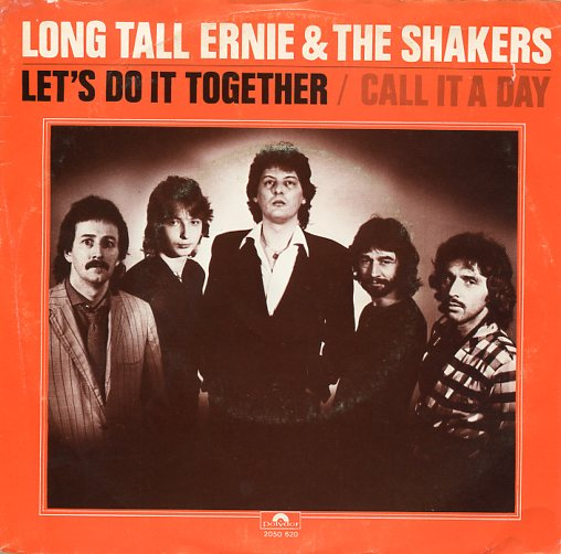 "LONG TALL ERNIE & THE SHAKERS ""Let's do it together"""