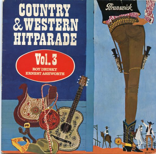 COUNTRY & WESTERN HITPARADE VOL. 3 EP