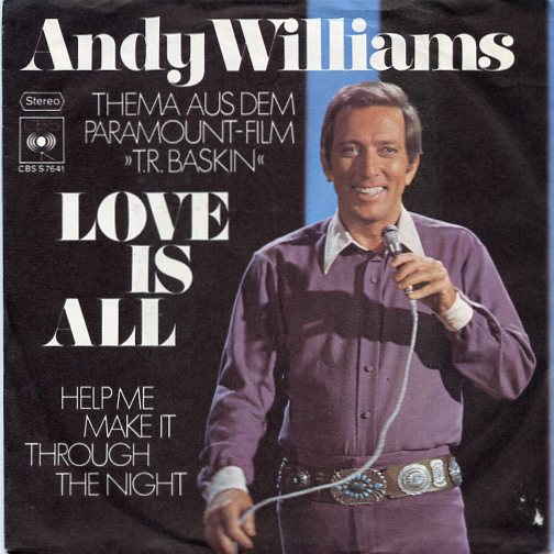 "ANDY WILLIAMS ""Love is all"""