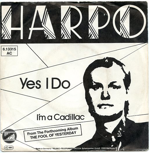 "HARPO ""Yes I do"""