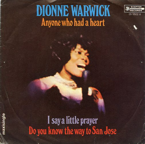"DIONNE WARWICK ""Anyone who had a heart"" (Maxi)"
