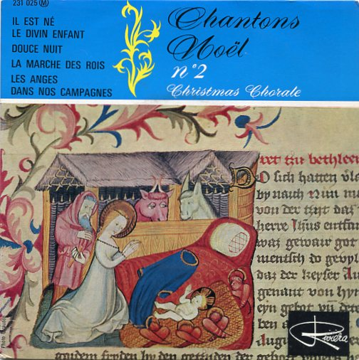 "CHRISTMAS CHORALE ""Chantons Noël no. 2"" EP"