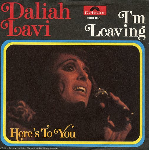 "DALIAH LAVI ""I'm leaving"""