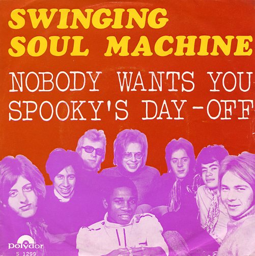 "SWINGING SOUL MACHINE ""Nobody wants you"""