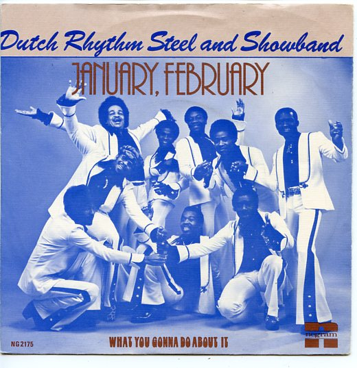 "DUTCH RHYTHM STEEL & SHOWBAND ""January, February"""