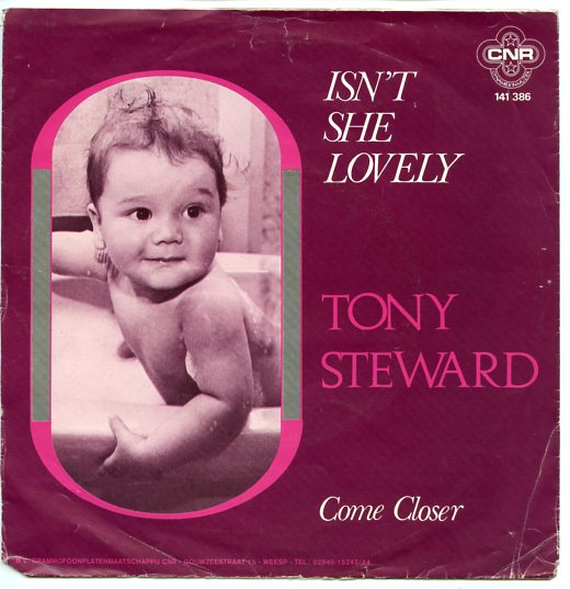 "TONY STEWARD ""Isn't she lovely"""