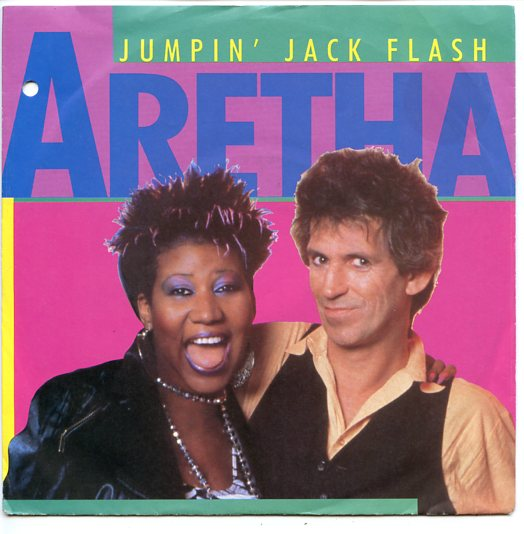 "ARETHA FRANKLIN ""Jumpin' Jack Flash"""