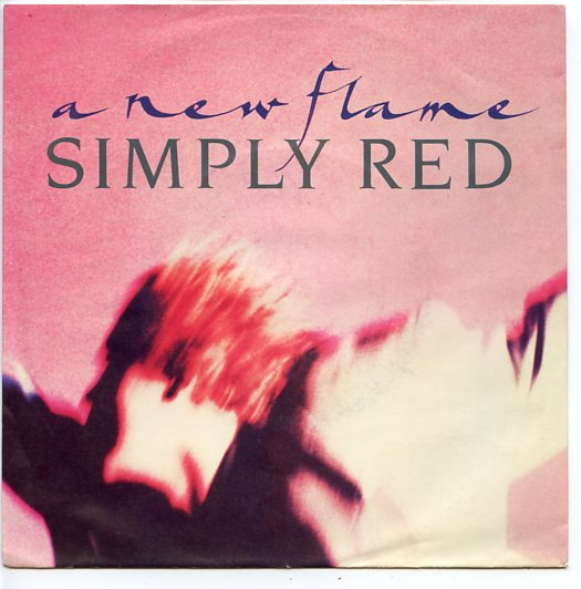 "SIMPLY RED ""A new flame"""