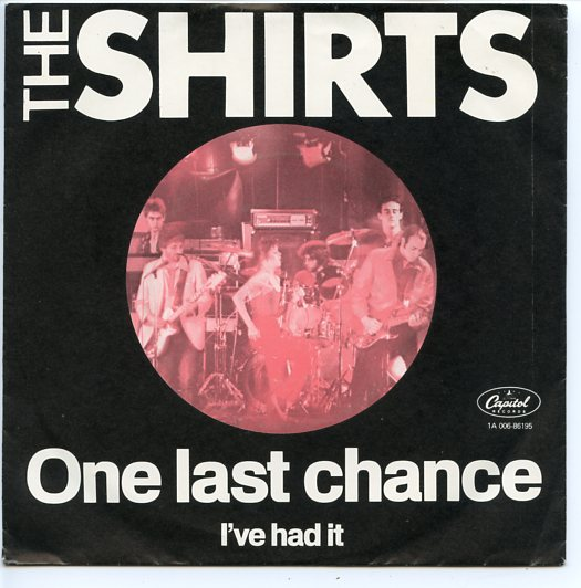 "SHIRTS ""One last chance"""