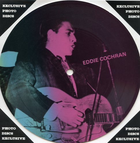 "EDDIE COCHRAN ""Masters of Rock & Roll vol. 1 PR 20"" (Pict.disc)"
