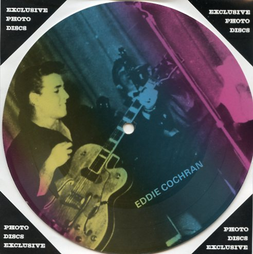 "EDDIE COCHRAN ""Masters of Rock & Roll vol. 1 PR 30"" (Pict.disc)"