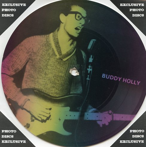 "BUDDY HOLLY ""Masters of Rock & Roll vol. 2 PR 33"" (Pict.disc)"