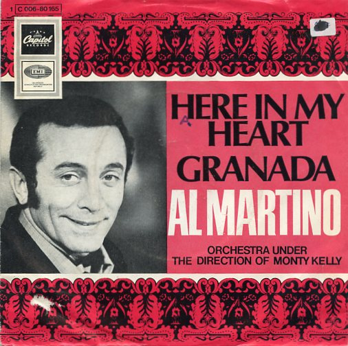 "AL MARTINO ""Here in my heart"""