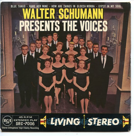 "VOICES ""Walter Schumann presents The Voices"" EP"