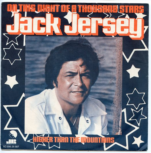 "JACK JERSEY ""On this night of a thousand stars"""