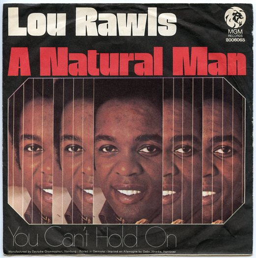 "LOU RAWLS ""A natural man"""