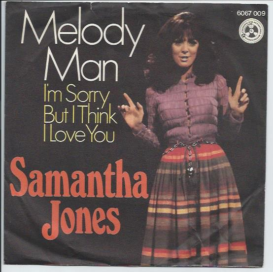 "SAMANTHA JONES ""Melody man"""