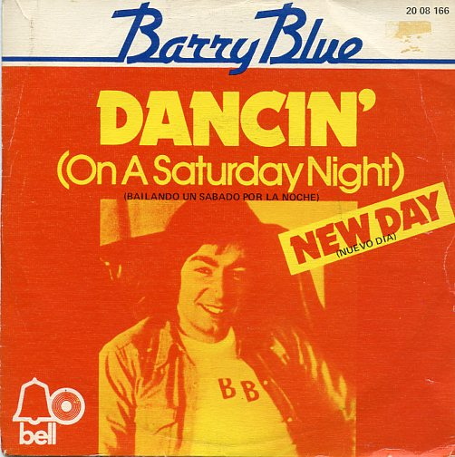 "BARRY BLUE ""Dancin' on a Saterday night"" (esp)"